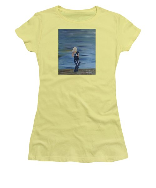 Firmly Grounded - Cindy Bradley Women's T-Shirt (Athletic Fit)