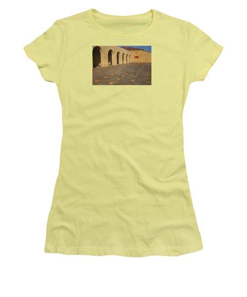 First Steps Women's T-Shirt (Junior Cut) by Susan  McMenamin
