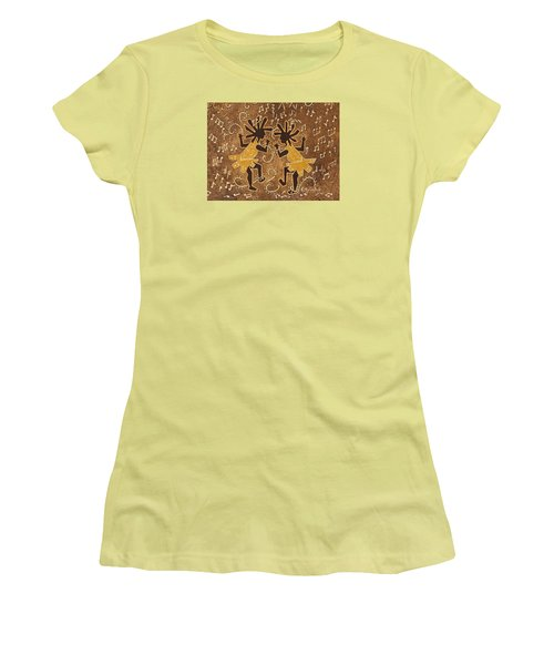 Flappers Women's T-Shirt (Junior Cut) by Katherine Young-Beck