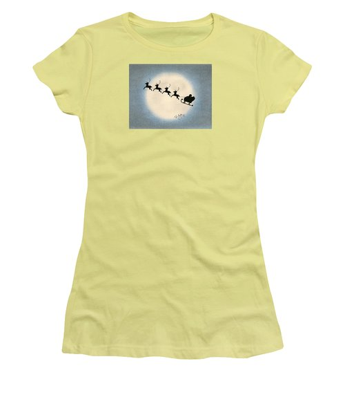Flight 1224 Women's T-Shirt (Junior Cut) by Troy Levesque