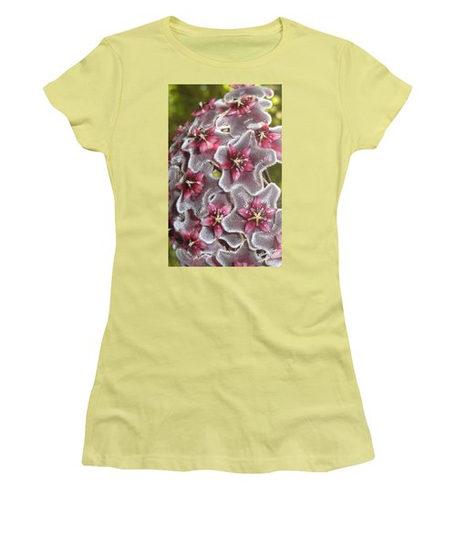 Floral Presence - Signed Women's T-Shirt (Athletic Fit)