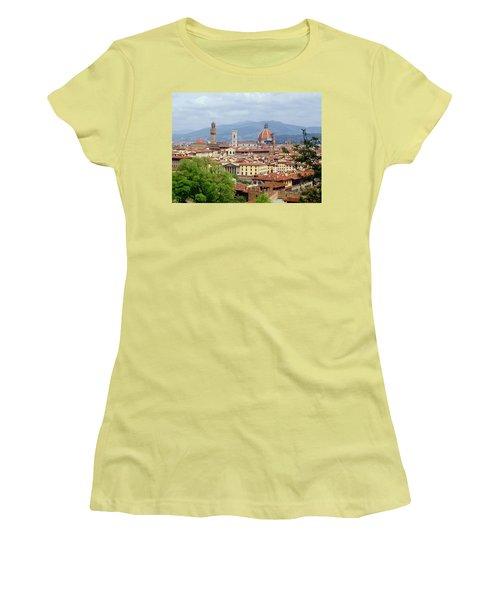 Florence Women's T-Shirt (Junior Cut) by Ellen Henneke