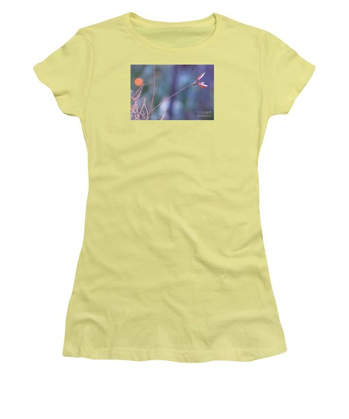 Flowering Moss Women's T-Shirt (Athletic Fit)