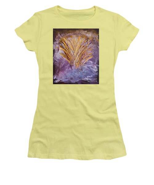 Flowering Nebula Women's T-Shirt (Athletic Fit)