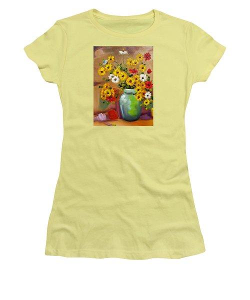 Flowers - Still Life Women's T-Shirt (Athletic Fit)