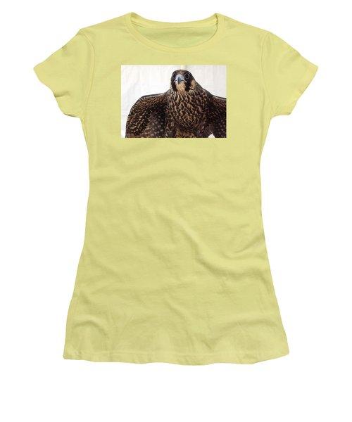 Focus Women's T-Shirt (Junior Cut) by Richard Faulkner