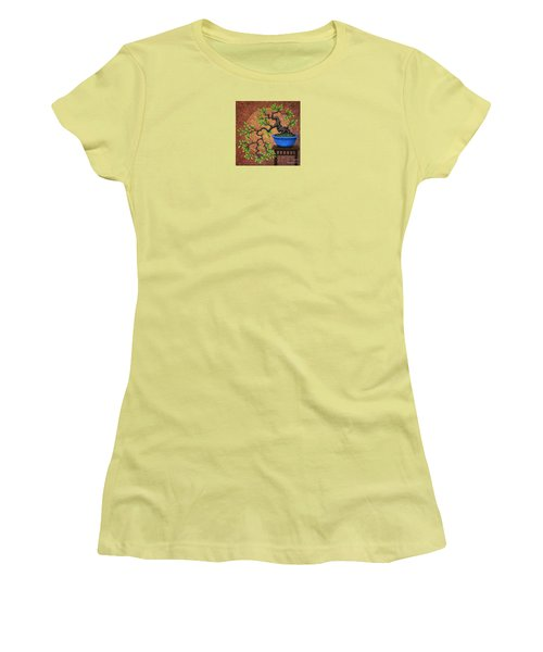 Women's T-Shirt (Junior Cut) featuring the painting Forgotten by Jane Bucci