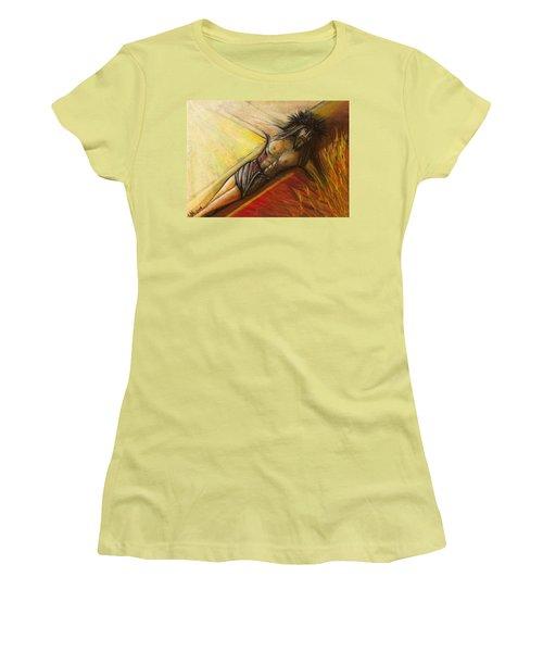 Psalm 22 Forsaken Women's T-Shirt (Athletic Fit)