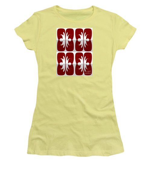 Women's T-Shirt (Junior Cut) featuring the photograph Four Corners Of Your Mind by Tina M Wenger