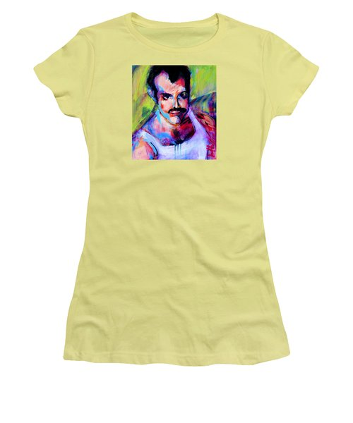 Freddy Women's T-Shirt (Junior Cut) by Les Leffingwell