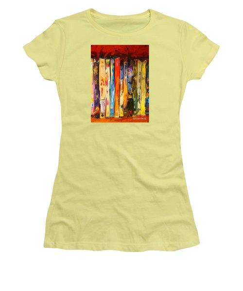 Free Your Mind Women's T-Shirt (Junior Cut) by Claudia Ellis