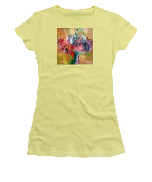 Fruit Bowl No.1 Women's T-Shirt (Junior Cut) by Michelle Abrams