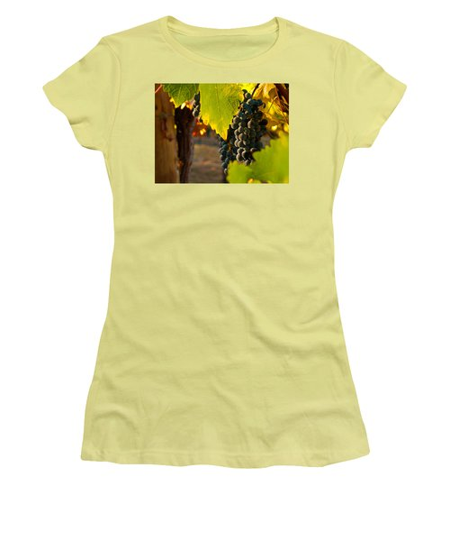 Fruit Of The Vine Women's T-Shirt (Athletic Fit)