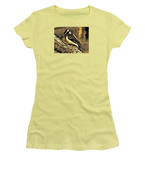 Women's T-Shirt (Junior Cut) featuring the photograph Full-color Not Needed by VLee Watson