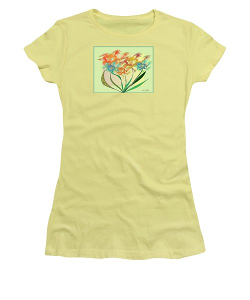 Garden Wonder Women's T-Shirt (Athletic Fit)