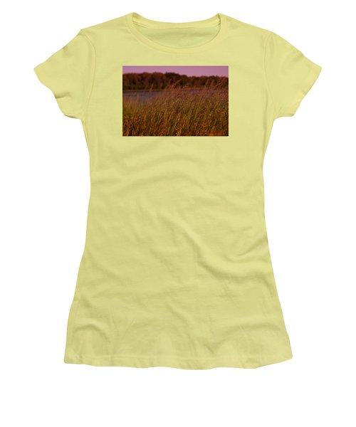Gentle Breeze Women's T-Shirt (Junior Cut) by Miguel Winterpacht