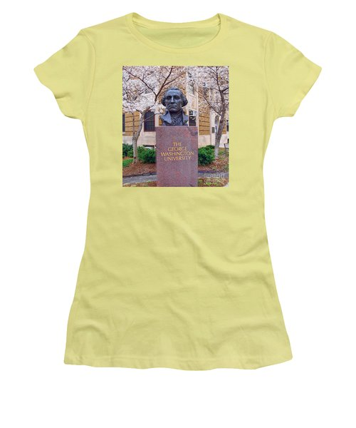 George Washington University Bust 1958 Women's T-Shirt (Athletic Fit)