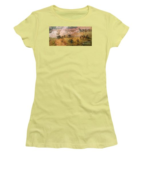 Gettysburg Cyclorama Detail One Women's T-Shirt (Athletic Fit)