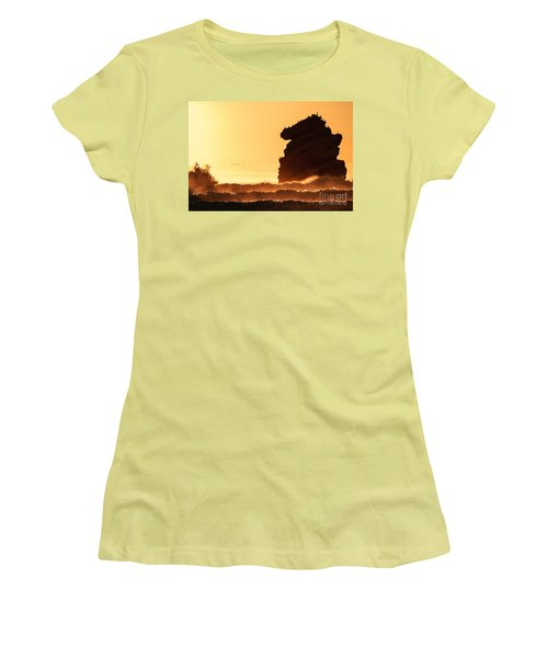 Glorious Afternoon At Morro Bay Women's T-Shirt (Athletic Fit)