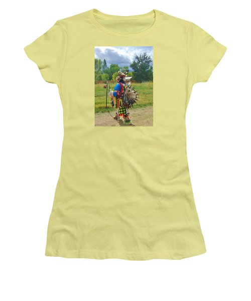 Going To The Pow Wow Women's T-Shirt (Junior Cut) by Marilyn Diaz