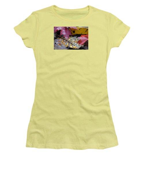 Midas Wept Women's T-Shirt (Junior Cut) by Stanza Widen