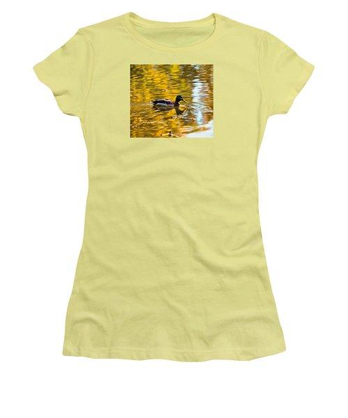 Golden   Leif Sohlman Women's T-Shirt (Junior Cut) by Leif Sohlman