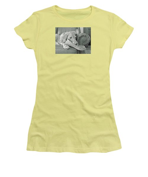 Good Day To Be On The Couch With My Slippers Women's T-Shirt (Athletic Fit)