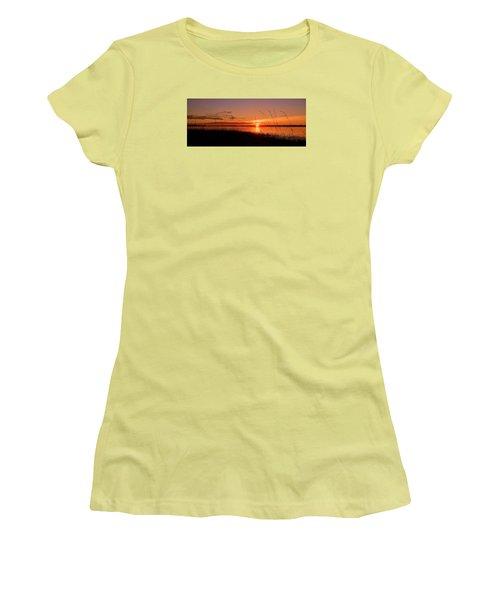 Women's T-Shirt (Junior Cut) featuring the photograph Good Morning ... by Juergen Weiss