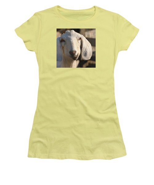 Goofy Goat Women's T-Shirt (Athletic Fit)