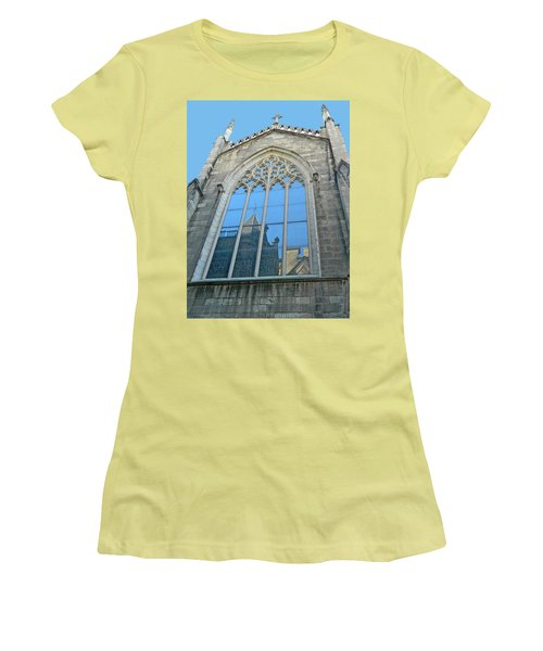 Women's T-Shirt (Junior Cut) featuring the photograph Grace Episcopal Church Nyc by Emmy Marie Vickers