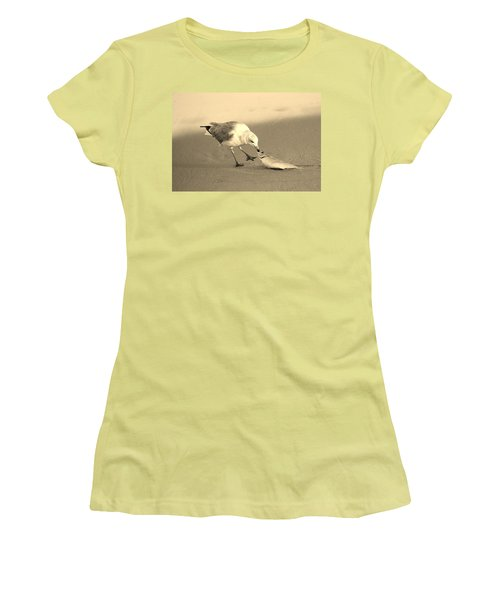 Women's T-Shirt (Junior Cut) featuring the photograph Great Catch With Fish by Cynthia Guinn