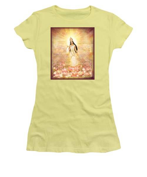 Great Mother Goddess In A Higher Dimension Women's T-Shirt (Athletic Fit)