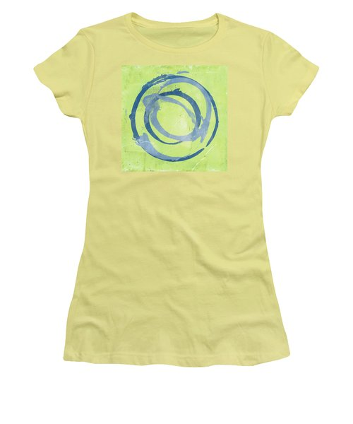 Green Blue Women's T-Shirt (Athletic Fit)