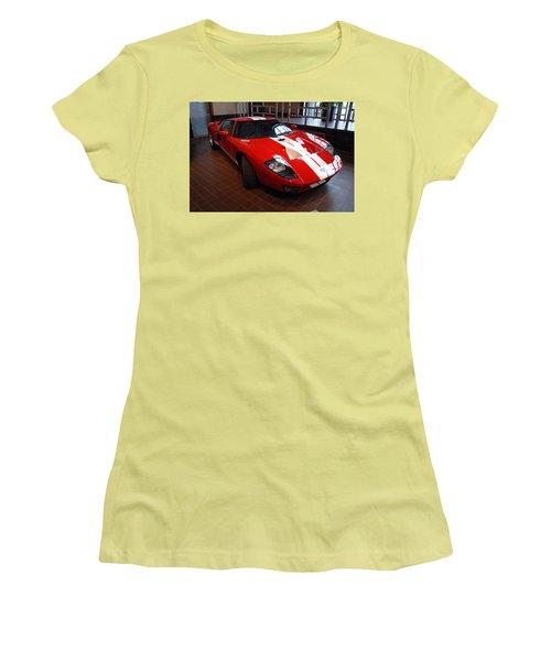 G T Women's T-Shirt (Athletic Fit)