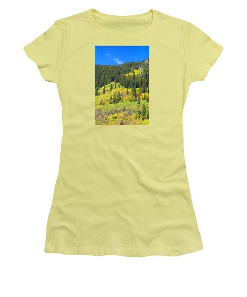 Guanella Pass Study 2 Women's T-Shirt (Athletic Fit)