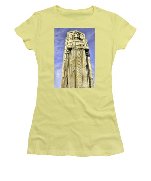 Guardian Of Traffic - 5 Women's T-Shirt (Junior Cut) by David Bearden