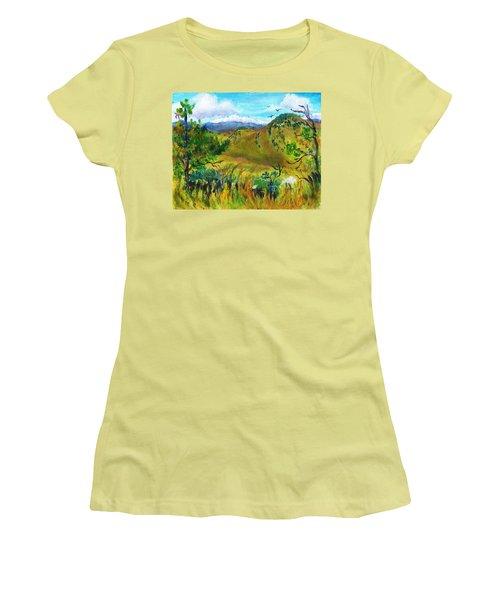Guilty Pleasures Women's T-Shirt (Junior Cut) by C Sitton