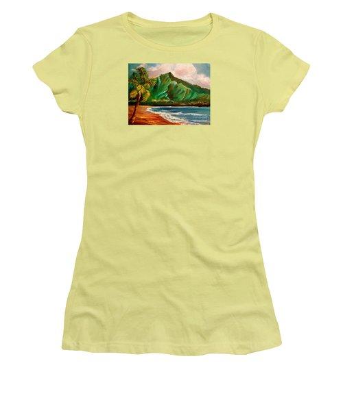 Hanalei Bay Women's T-Shirt (Athletic Fit)