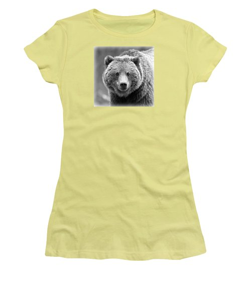 Happy Bear Women's T-Shirt (Athletic Fit)