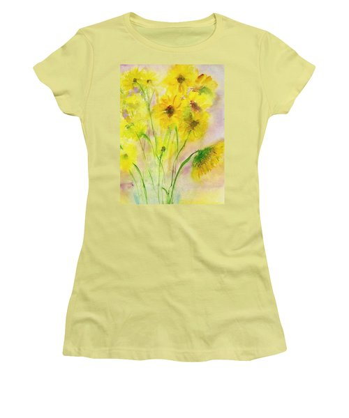 Hazy Summer Women's T-Shirt (Junior Cut) by Anna Ruzsan