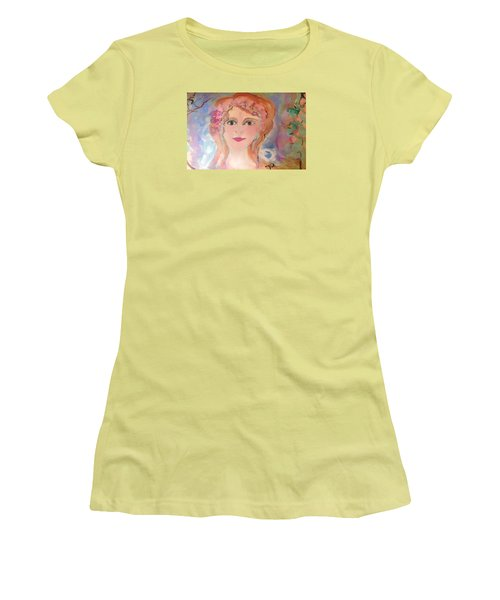 Heart And Soul  Women's T-Shirt (Junior Cut) by Judith Desrosiers