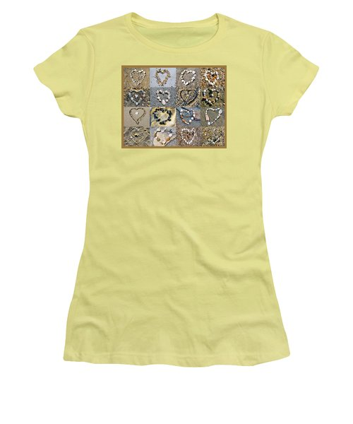 Heart Of Hearts Women's T-Shirt (Athletic Fit)