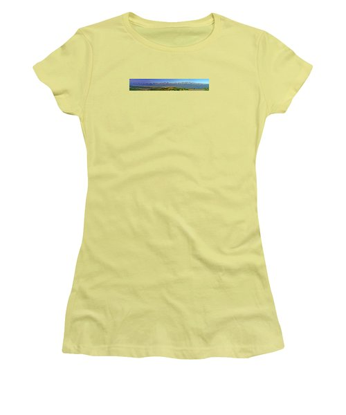 Heart Of The Sawatch Panoramic Women's T-Shirt (Athletic Fit)