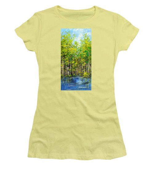 Heat Of Summer Women's T-Shirt (Athletic Fit)