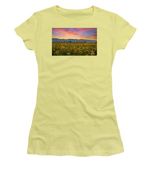 Women's T-Shirt (Junior Cut) featuring the photograph Heaven by Rima Biswas