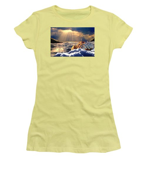 Heavenly Ascension Women's T-Shirt (Junior Cut) by Ron Chambers