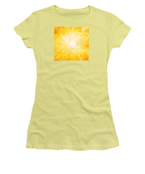 Here Comes The Sun Women's T-Shirt (Junior Cut) by Kume Bryant