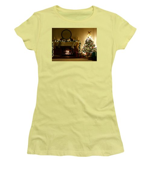 Home For The Holidays Women's T-Shirt (Athletic Fit)