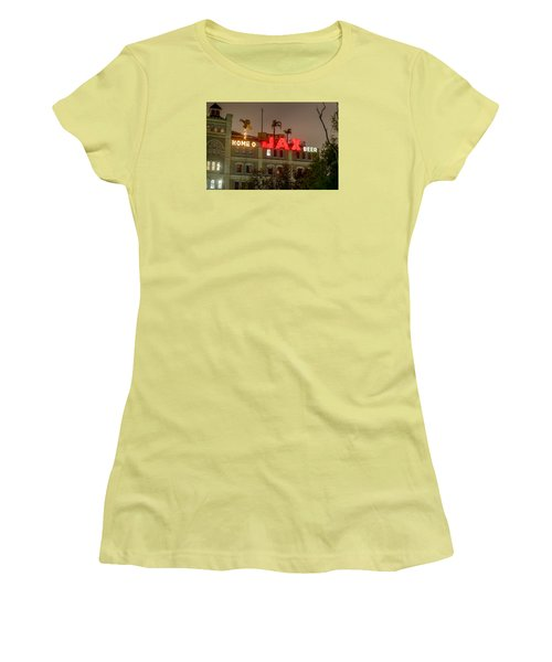 Women's T-Shirt (Junior Cut) featuring the photograph Home Of Jax by Tim Stanley