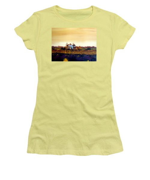 Homestead Women's T-Shirt (Junior Cut) by William Renzulli